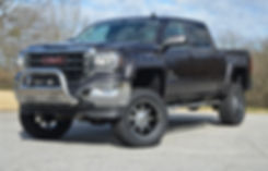 Rocky Ridge GMC Sierra Altitude Package Custom Lifted Truck