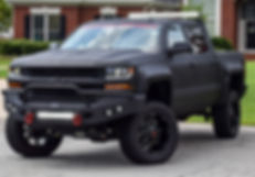 Black Rocky Ridge Chevrolet Silverado Stealth XL Package