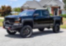 Black Rocky Ridge Chevrolet Silverado Stealth Package