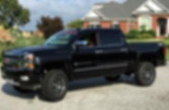 Black Rocky Ridge Chevrolet Silverado Callaway SC560 Truck