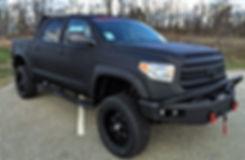 Rocky Ridge Custom Tundra with Stealth Coating and 6 inch lift kit