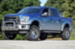 Blue Faded Rocky Ridge Ford F150 Altitude Package