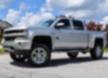Silver Rocky Ridge Chevrolet Silverado Altitude Package