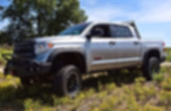 Rocky Ridge Tundra Package with custom 6 inch lifted truck