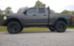 Granite Rocky Ridge Ram 1500 Stealth Package with custom 6 inch lift kit