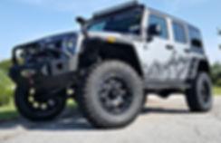 Rocky Ridge Pinnacle Package Jeep Wrangler Custom Lift Kit