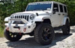 White Rocky Ridge Adrenaline Jeep Wrangler with Richard Petty Supercharger