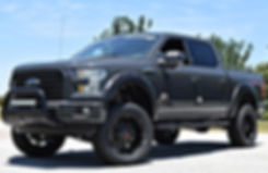 Lithium Grey Rocky Ridge Ford F150 K2 Package