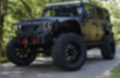 Black Rocky Ridge Mad Rock Jeep Wrangler