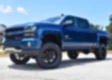 Deep Ocean Blue Rocky Ridge Chevrolet Silverado K2 Package