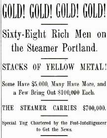 Information Sharing During the Klondike Gold Rush