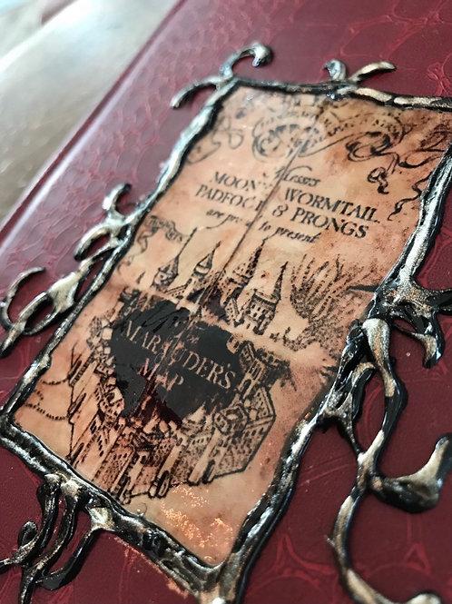 Marauders Map Journal Notebook