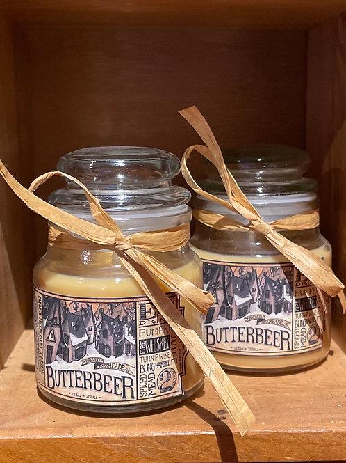 Butter beer Jar Candle 3oz