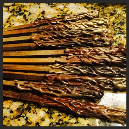 Pack of 5 Party Favor Wizard Wands