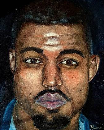 Kanye West Original Portrait