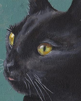 Custom Oil Pet Portrait