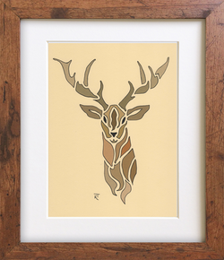 Tan Stag