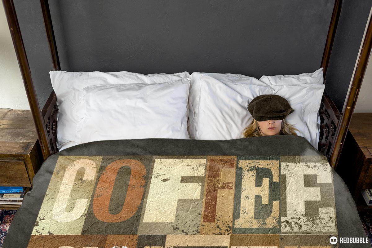 Douvet Cover - coffee design