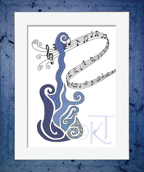 Blue Guitar*
