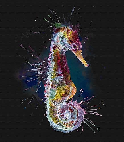 Midnight Seahorse