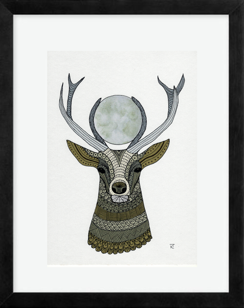 Full Moon Stag