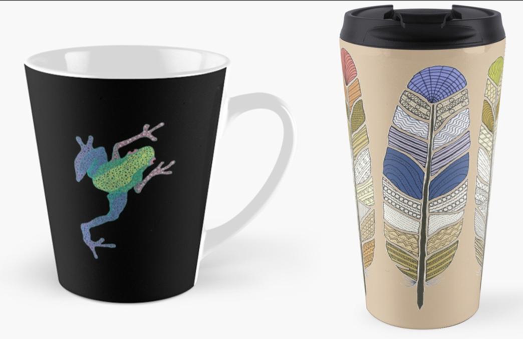 Tall and Travel mugs