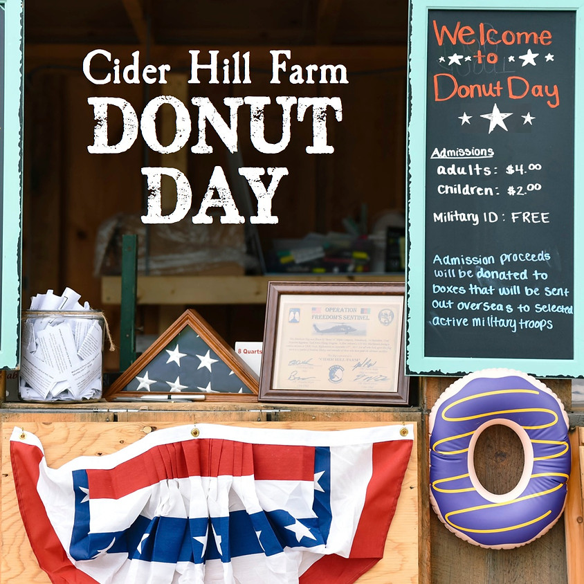 3rd Annual Donut Day: Donuts & Military Care Packages