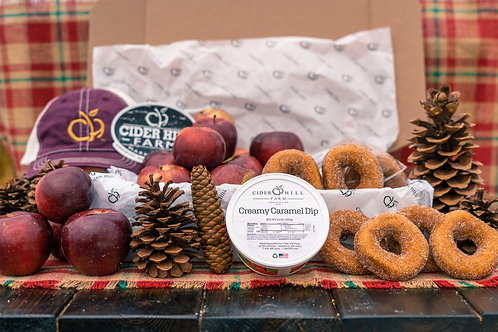 Donuts, Apples & Caramel Gift Box
