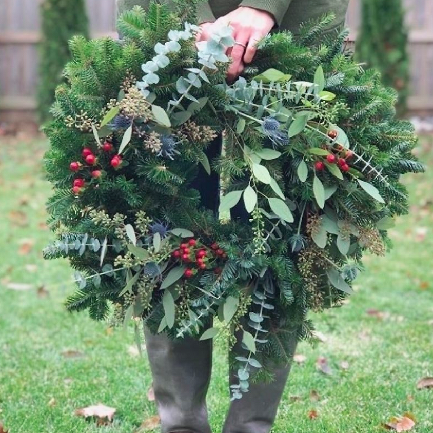 Holiday Wreath-Making Workshop at Cider Hill Farm