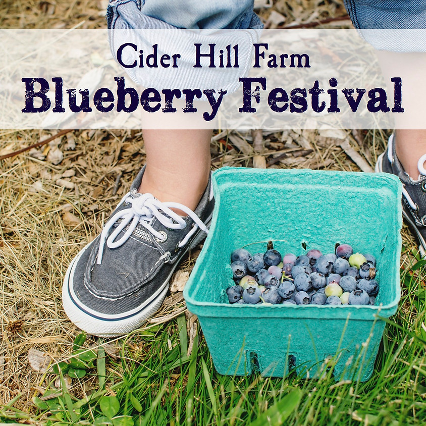 Blueberry Festival - Tickets Coming Soon!