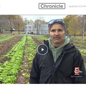 """Work Never Ends for a Farmer"" - Chronicle WCVB"