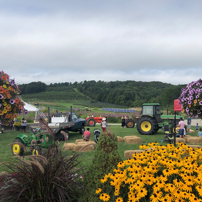 Free! Tractors & Tulips