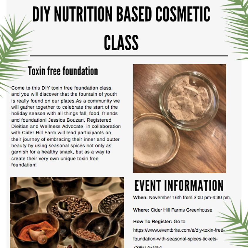 DIY Nutrition Based Cosmetics Workshop
