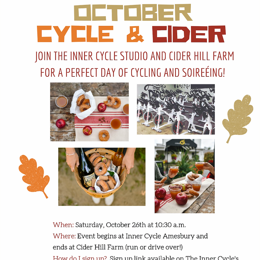October Cycle & Cider