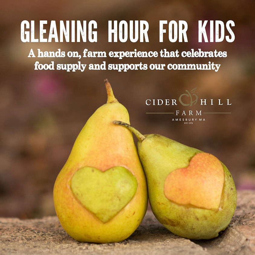Gleaning Hour for Kids - 9/30
