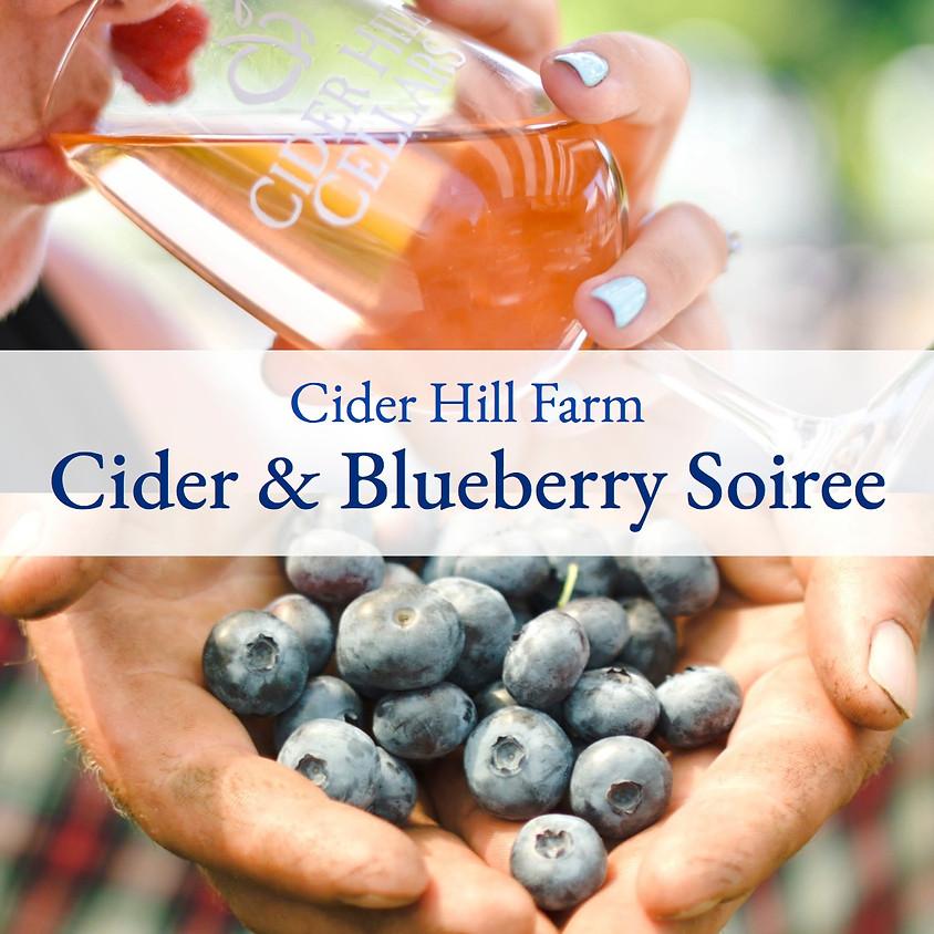 Cider & Blueberry Soiree
