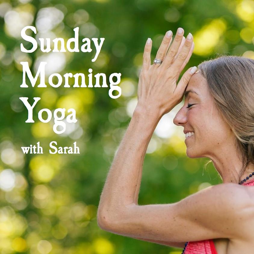 Sunday Morning Yoga at Cider Hill Farm