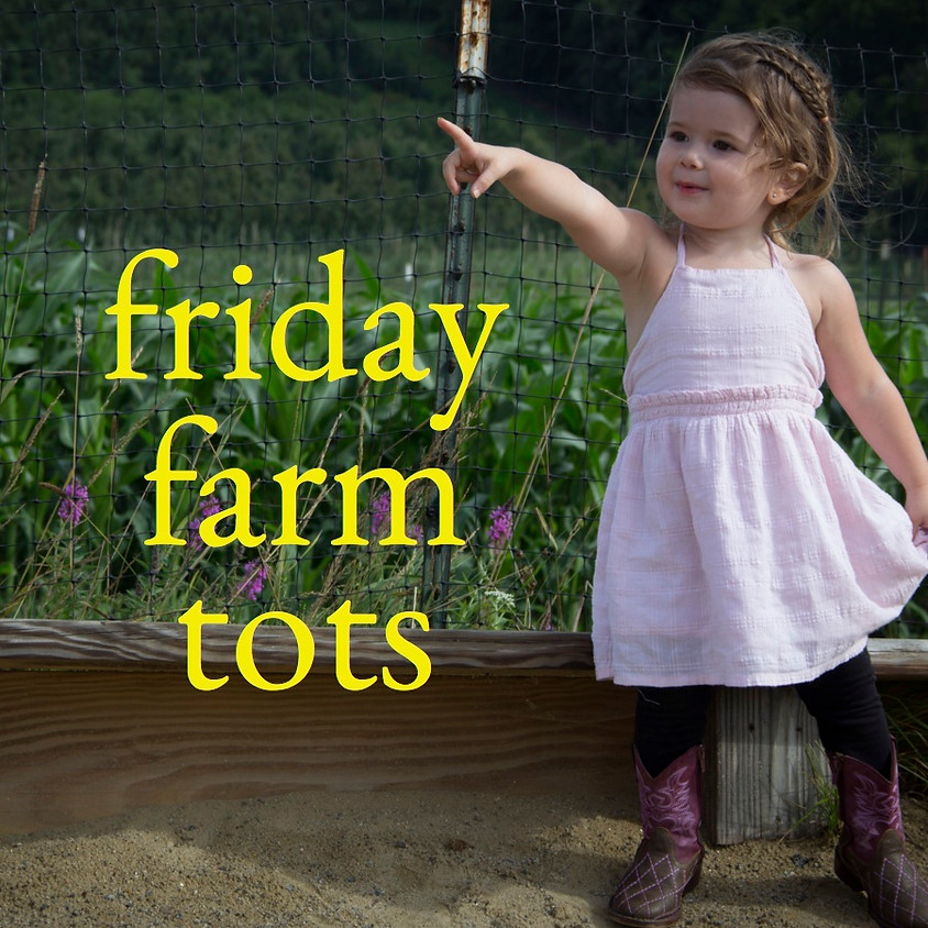 Friday Farm Tots - August Session