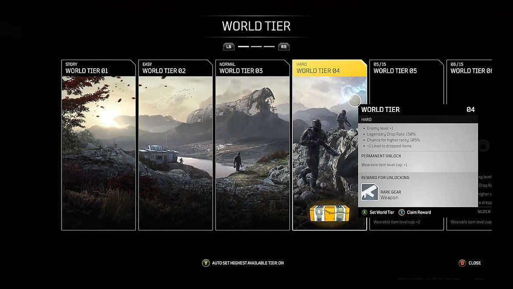 Example of World Tier's