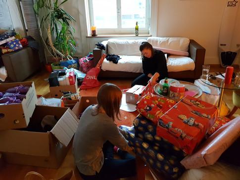 Vorbereitungen Gassenweihnacht 2019