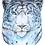 Thumbnail: Print of Watercolor Snow Leopard