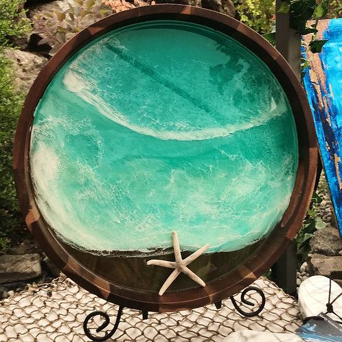 Turquoise Seas Tray