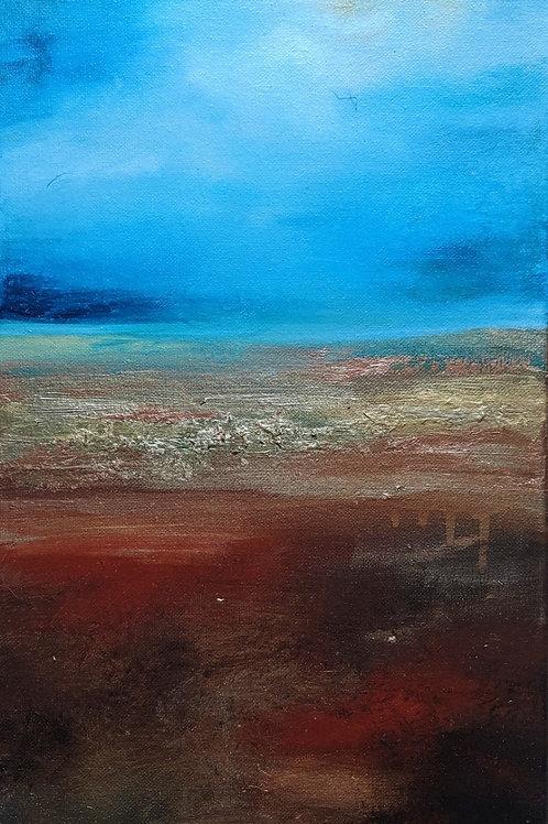 Dawn Horizon Canvas Print