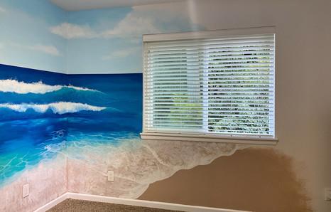 Beach Nursery Mural