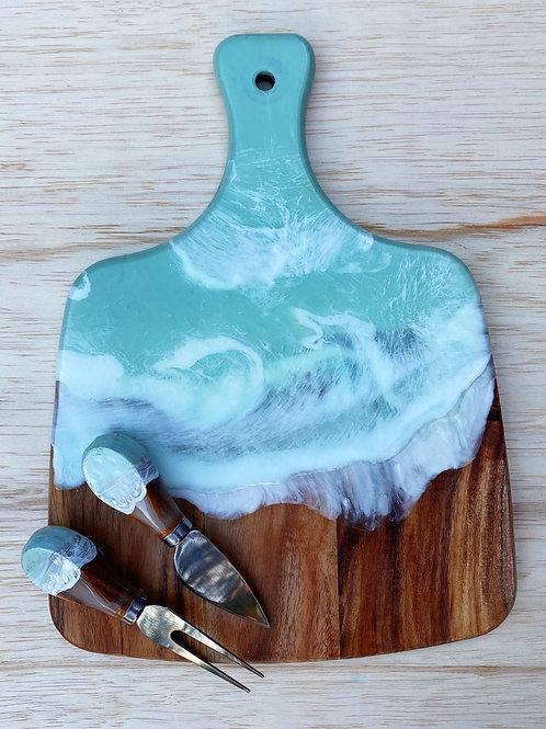 Small Ocean Cheese Board