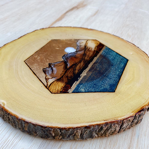 Olympic Mountain Live Edge Cut