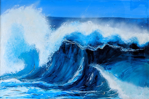 Life in Waves Canvas Print