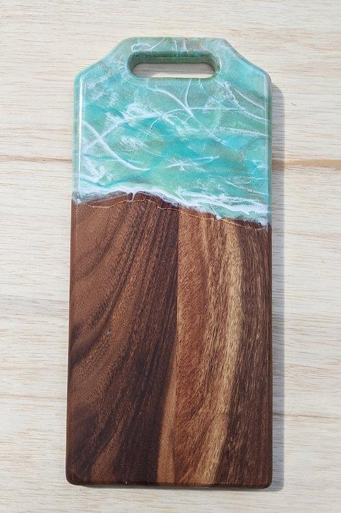 Mint Marble Cutting Board