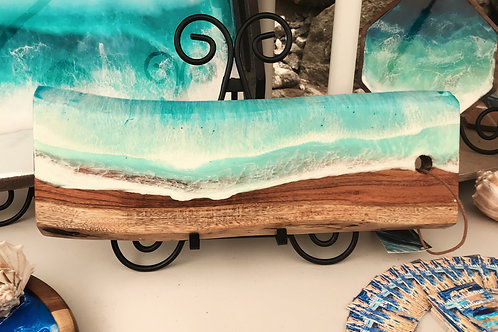 Long Ocean Wood Serving Board
