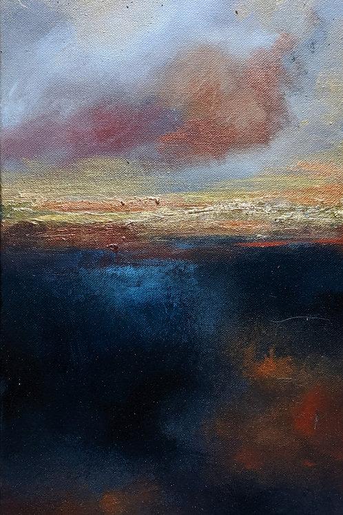 Dusk Horizon Canvas Print